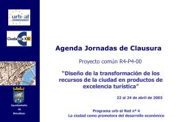 22 abril 2003 - Centro de Documentación del Programa URB-AL