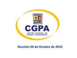 Reunión CGDP Colegio San Javier