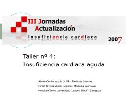 III Jornadas de Actualización en Insuficiencia Cardiaca