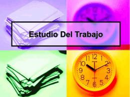 ppt. ESTUDIO DEL TRABAJO