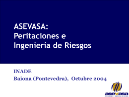 Presentacion Asevasa 2004