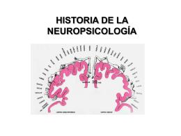 NEUROPSICOLOGÍA INTRODUCCIÓN