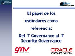 ISO/IEC 27000 - Cátedra de Riesgos en Sistemas de Información