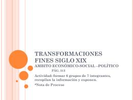 3.TRANSFORMACIONES FINES S.XIX