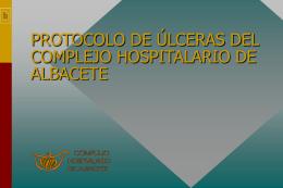 Protocolo de úlceras. - Complejo Hospitalario Universitario de
