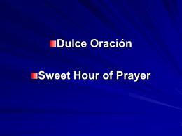 Dulce Oración - Wayne Partain