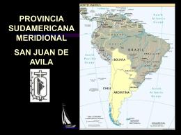 Provincia Sudamericana Meridional San Juan de Avila Hno. Hermit