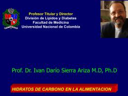 Presentación de PowerPoint - División de Lípidos y Diabetes