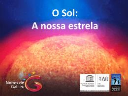 Actividade solar - Galilean Nights