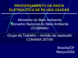 - Ministério do Meio Ambiente