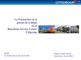 Miguel Ángel Martín de CITIGROUP: Nuevas incorporaciones