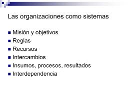 Análisis y Diseño Organizacional
