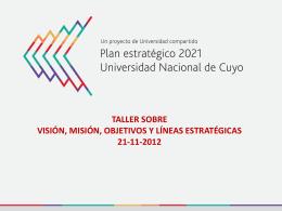Diapositiva 1 - Universidad Nacional de Cuyo