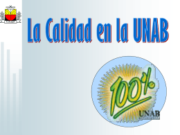 Registro Calificado - Universidad Autónoma de Bucaramanga