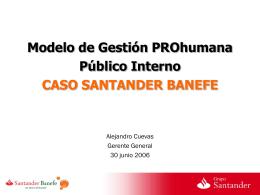 Santander Banefe