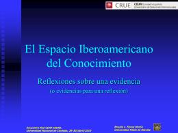 Braulio Flores Morón - Red de Cooperación Internacional de