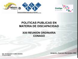 presentación del Lic. Víctor Hugo Flores Higuera, Jefe de