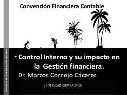 1 er Encuentro de Auditores Internos Unión