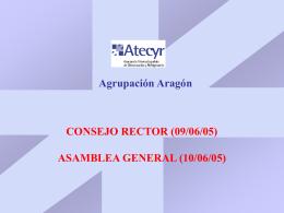 1 encuentro anual ATECYR 2005