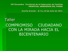VII Encuentro Territorial de la Federación de Familias PROFETAS