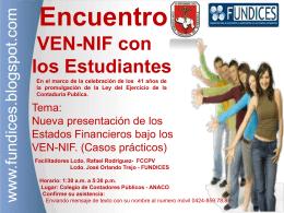Encuentro (386048) - Estudiantes Contaduria IUTJAA 2013