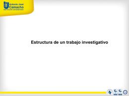 Guia – Estructura trabajos investigativos
