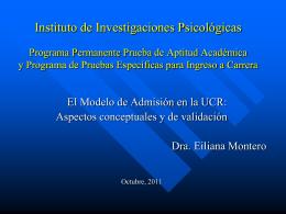 ANEXO 1 - Presentación para CSUCA UCR