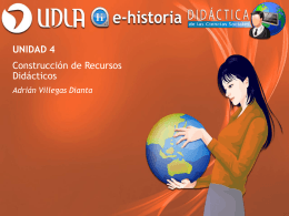 Unidad 4 - Construcción de Recursos Didácticos - E