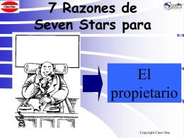 7 Razones de Seven Stars para