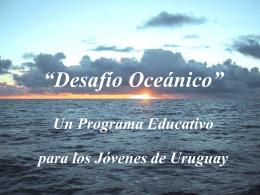 Presentacion del Desafio Oceanico(reducido)