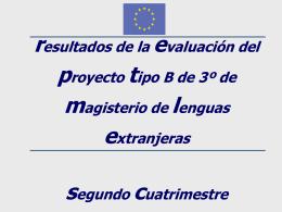 Mejoras de la asignatura Lengua extranjera y su didáctica (Inglés)