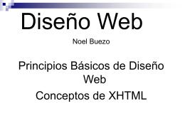 DisenioWebNoel - Clases Noel Buezo