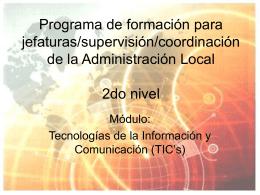 Clase 1 - Sindicato de Trabajadores Municipales de Rosario