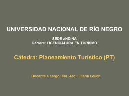 PwP Estrat-Esp Urb - Universidad Nacional de Río Negro