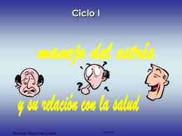 Manejo del estrés Ciclo I.PRESENTACIÓN