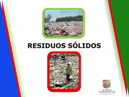 residuos sólidos