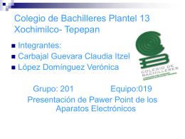presentacion de pawer poit desechos electronicos