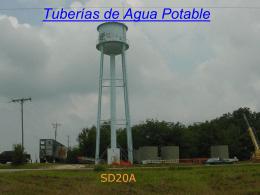 Tuberías de Agua Potable