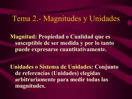 Tema 2 Magnitudes y Unidadesdecimo