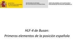 Primeros elementos de la posición española