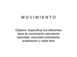Tarea movimiento