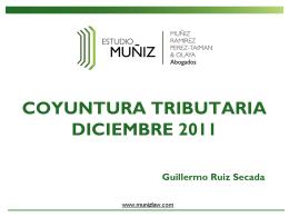 Presentación General Desayuno Diciembre 2011