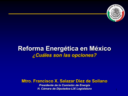 Retos del sector eléctrico - Marcelino Trujillo Méndez