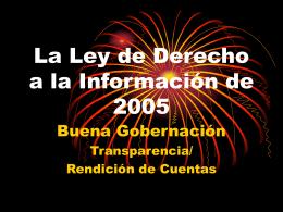 Ley del DaI de 2005