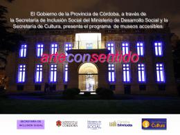 Presentación3 - Gobierno de la Provincia de Córdoba