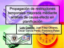 Propagación de restricciones temporales mejorada mediante
