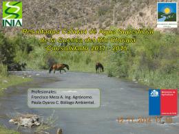 1_Presentación Calidad Agua Superficial 2015