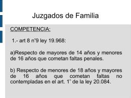 Juzgados de Familia