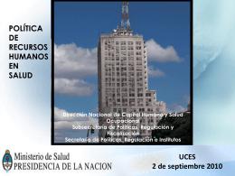 PPT Isabel Duré Sistema Nacional de Residencias