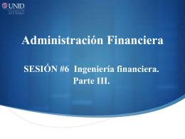 Reestructuras y consolidaciones financieras